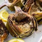 artichokes roasted