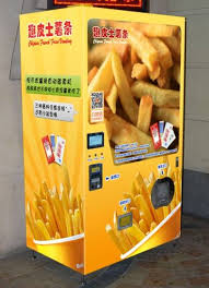 French Vending Machine Interesting Sell French Fries Vending Machineid48 EC48