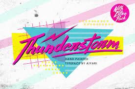free font designs trend alert 1980s memphis design creative market blog