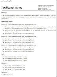 creating a resume for free. creating a free resume template resume free  learnhowtoloseweight ...