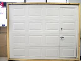 garage door with entry doorGarage Doors With Entry Door Built In  Home Design