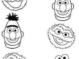 Coloring Pages Of Sesame Street Characters Coloring Pages Sesame