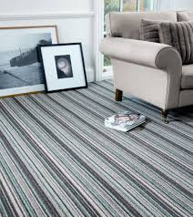 Designer Striped Carpet Energise Space And Express Individuality With Stripes