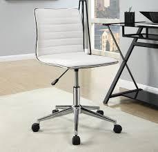 Off white office chair Office Depot Cream Fabric Office Chair Ca800726c Caravana Furniture Cream Fabric Office Chair Caravana Furniture
