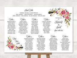 Wedding Seating Chart Wording Wedding Seating Chart Table Seating Plan Wedding Sign Find Your Seat Guest List Feather Boho Floral Cheap Diy Printable Pdf Sc20