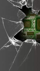 Cracked Screen 3D Phone Wallpapers ...
