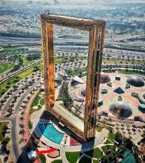 dubai s new monument soars almost 500 ft tall and is the world s largest picture frame the structure represents the aspirations and achievements of the