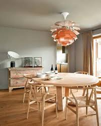 simple-dining-table-from-wood-with-chandelier-wooden-chairs-with ...