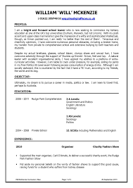 Resume For School Leaver Free Resume Example And Writing Download