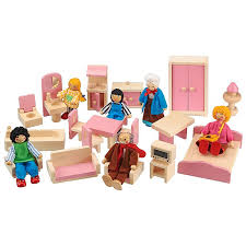 cheap doll houses with furniture. Hand Crafted Wooden Doll\u0027s House Furniture 20 Piece Set. Cheap Doll Houses With