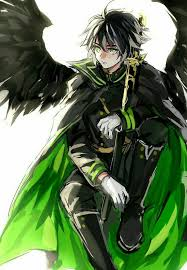 anime characters with wings boy. Wonderful Boy Anime Boy Black Hair Green Cape Angel Wings Sword Eyes  Guys Please Tell Me The Name Of This Andor Character If You Know With Characters Wings Boy M