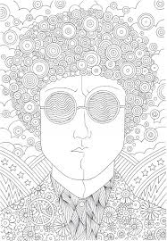 Small Picture The coolest free coloring pages for adults Hippie guy Adult