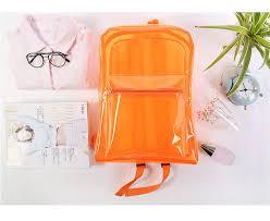 תוצאת תמונה עבור рюкзак прозрачный оранжевый