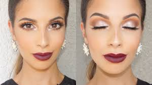 view in gallery shimmer eyes and dark lips