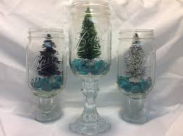 Ideas For Decorating Mason Jars For Christmas Christmas Tree in a Jar Mason Jar DIY Craft Idea 91