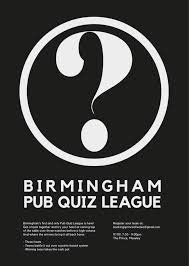 birmingham pub quiz league round 3 19th november 2017