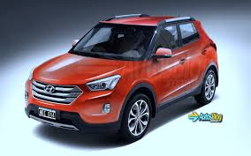 new car suv launches in india 2014New Render Pic of India Bound Hyundais Compact SUV