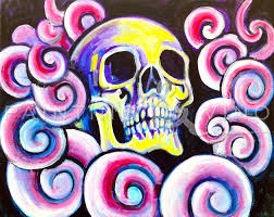 spell of the skull by deron cohen for painting vino