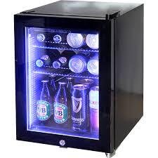 awesome glass door mini fridge mini glass door bar fridge black color model sc schmick with