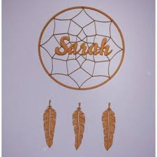 Dream Catcher Names Beauteous Dreamcatcher D32 With Custom Name