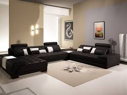 Living Room Awesome Black Sofas Decorating Living Room Ideas Black Leather  Sectional Sleeper Square Beige Area