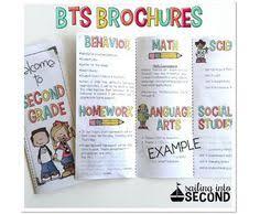 Teacher Brochure Example Owl Welcome Brochure Classroom Ideas Pinterest Classroom