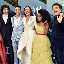 Stranger Things Cast at the SAG Awards 2020