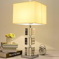 Amazoncom Momo Schreibtischlampe Kristall Tischlampe