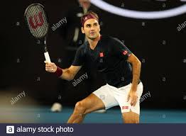 Melbourne, Australia. 24th Jan, 2020. Roger Federer of ...
