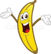 Banana Cartoon Clip Art Clipart | Klei kunst, Banaan, Kunst