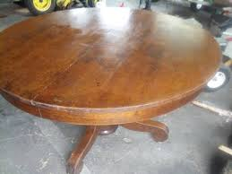 antique 4 6 round oak table 2 leaves w claw feet pedestal 1 of 8 antique 4 6 round oak table 2 leaves
