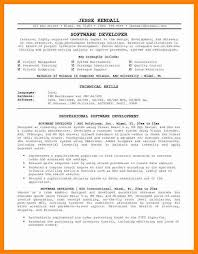 7 Software Engineer Resume Summary Letter Signature