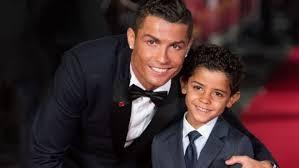 vue de la faaade ouest de.  Ouest LONDON ENGLAND  NOVEMBER 09 Cristiano Ronaldo And Son  Jr Attend The For Vue De La Faaade Ouest