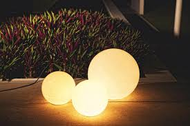 round outdoor lamps from skyline design