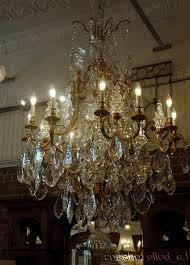 favorite monumental pair french crystal bronze chandeliers for regarding huge crystal chandeliers gallery