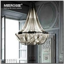 french empire chain chandelier light fixture long hanging suspension lustre lamp long chain chandelier h97
