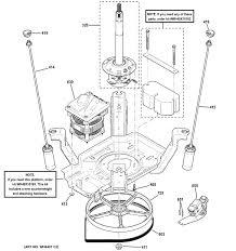 Clutch parts diagram ge washer parts model gcwn4950d0ws of clutch parts diagram ge washer parts model