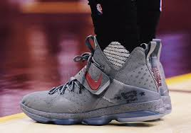 lebron james shoes 14. lebron breaks out another grey and maroon nike 14 pe lebron james shoes