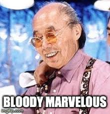 bloody marvelous - Imgflip via Relatably.com