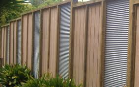 sheet metal privacy fence. Combination Of Corrugated Iron And Timber Patio Pinterest Metal Privacy Fence Diy Sheet B Full Size