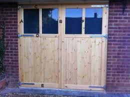 wood double garage door. Wooden Garage Doors Made To Measure Hardwood Timber Wood Double Door