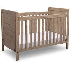 Serta Cali 4-in-1 Convertible Crib Rustic Whitewash - Walmart.com