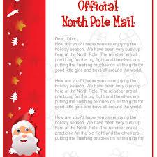 Christmas Letter Santa Template Fresh A Letter From Santa Template