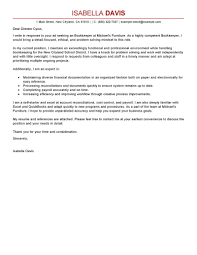 Cover Letter Example Bookkeeper Medical 0 Handtohand Investment Ltd