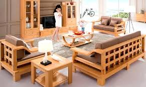 wooden sofa set wood living room furniture sets modern design living room on wooden sofa designs