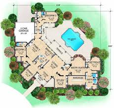 dream house plans. Luxury Style House Plans - 5108 Square Foot Home, 1 Story, 3 Bedroom And Dream