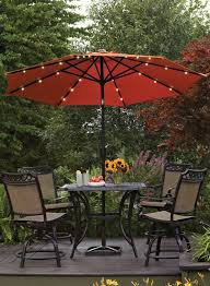 this umbralla features battery operated led lights for a bit of bud light lime patio umbrella