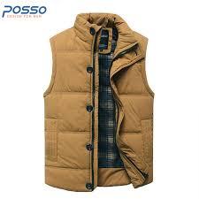 Sleeveless jacket men puffer vest men quilted jacket winter cotton ... & Sleeveless jacket men puffer vest men quilted jacket winter cotton padded  zipper casual vest jacket winter Adamdwight.com