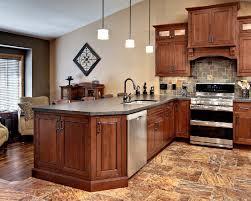 Image Muzzikum Kitchens With Cherry Cabinets Kitchen Color Schemes Paint Mandratavern Kitchen Colors Cherry Cabinets Image Cabinets And Shower Mandra