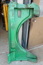 cab 1968 1972 oe used green chev left fender